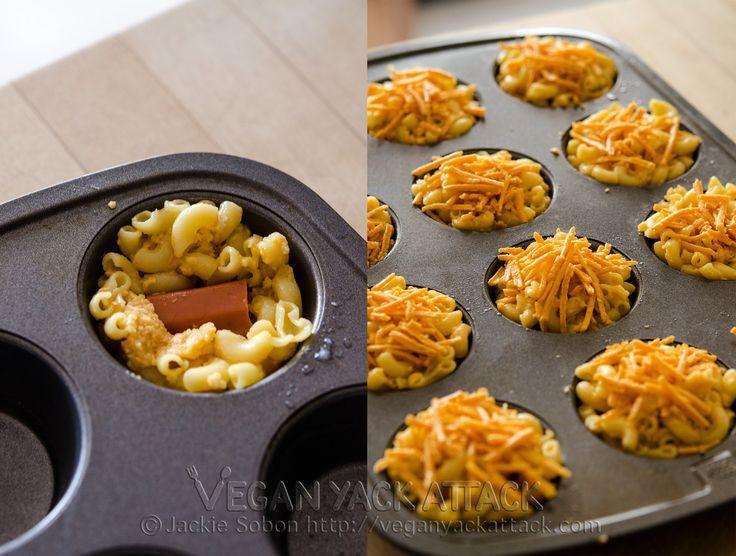 Making mac n cheese bites