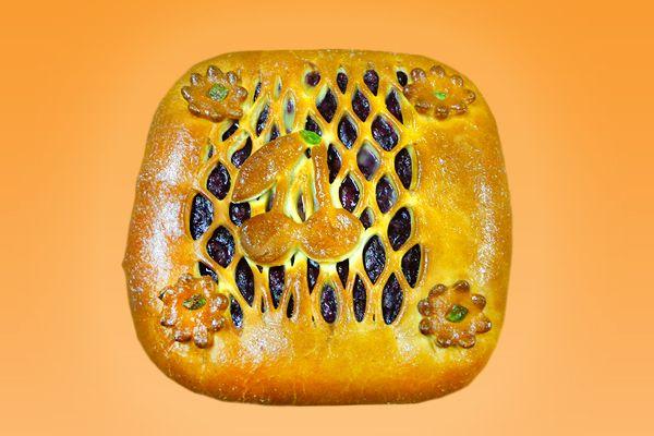 Пирог вологодский с яйцом