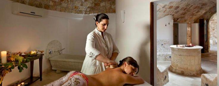 Hotel con centro benessere a Noicattaro, Bari, dispone di spa composta da idromsaggio, percorsi benessere e  trattamenti wellness