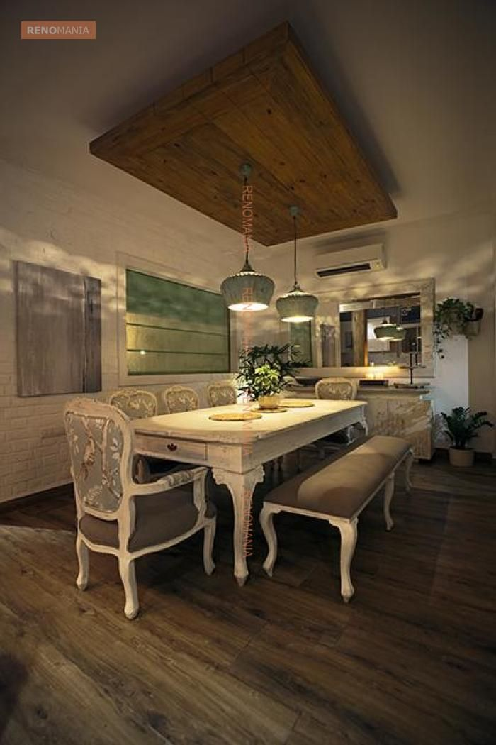 Image Result For Wooden False Ceiling In Dining Area In 2019