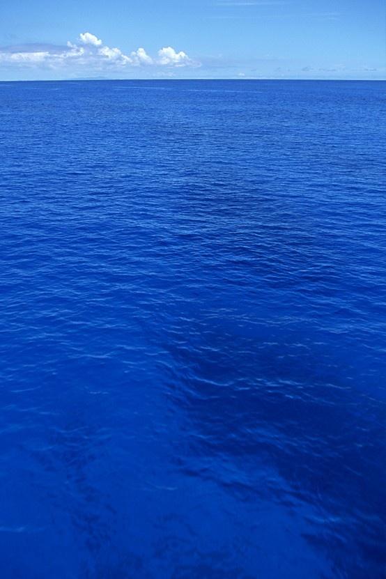 gorgeous blue ocean