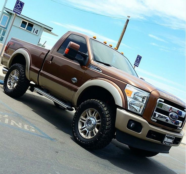 Ford Sel Pickup Trucks For Regular Cab Short Bed F350 King Ranch H S Def Delete Pinterest And