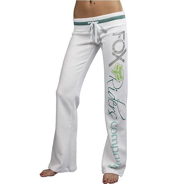 Fox Racing lounge pants... I want!
