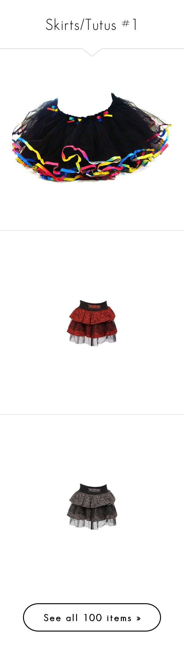 """""""Skirts/Tutus #1"""" by baby-star-burst ❤ liked on Polyvore featuring skirts, bottoms, tutus, tutu, short skirt, tutu skirts, red tutu skirt, red skirt, red tutu and poizen industries"""