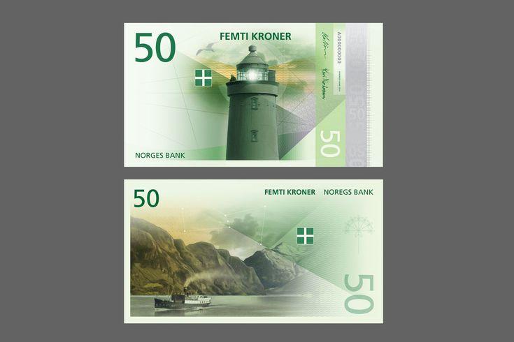 Cédulas da Noruega