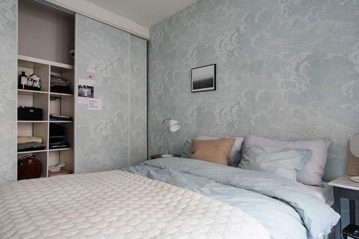 Эта небольшая шведская квартира расположена в Гетеборге рядом с ботаническим садом и прекрасным городским парком.