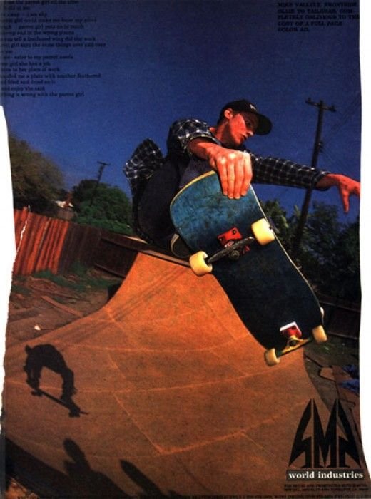 World Industries - Mike Vallely Ad (1989)