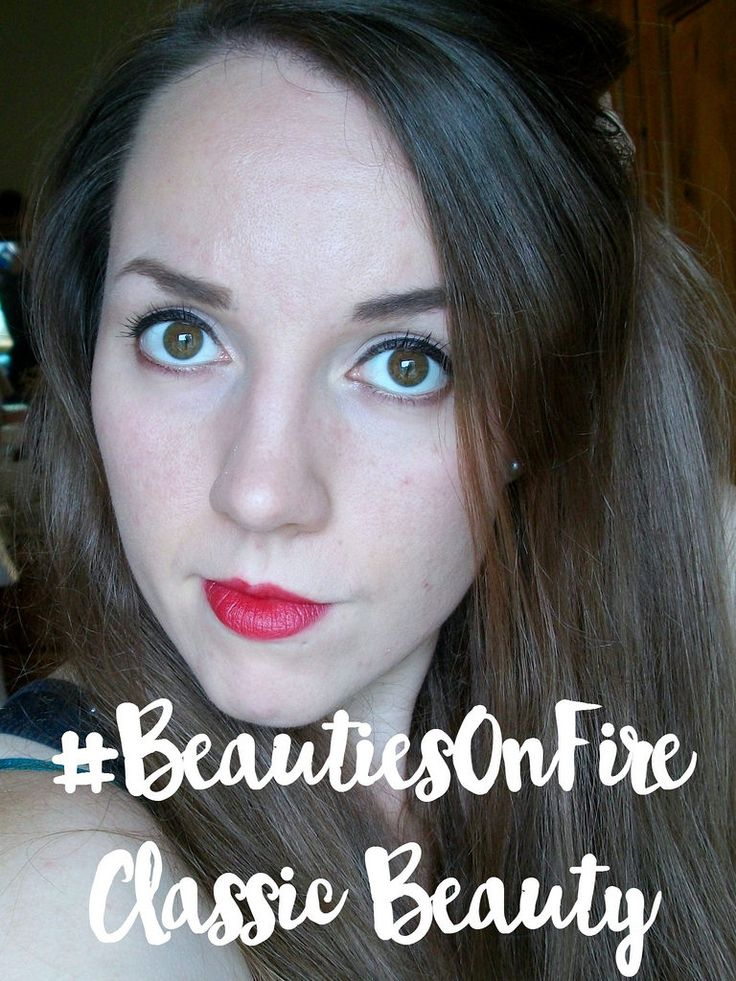 #BeautiesOnFire-Week-One. Classic Beauty look. Click to see what classic beauty looks like. | Beauty Blogger | Classic Makeup