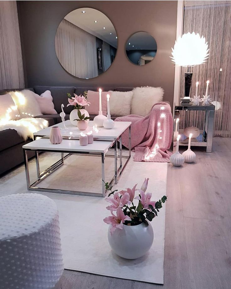 Entry Photo Credit Inspire Me Home Decor On Instagram: Oh How I Just Love Pink! 🌸 Double Tap If You 💗 It Too