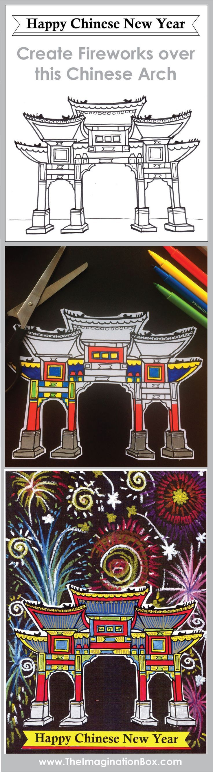 The coloring book of cards and envelopes a year of celebrations