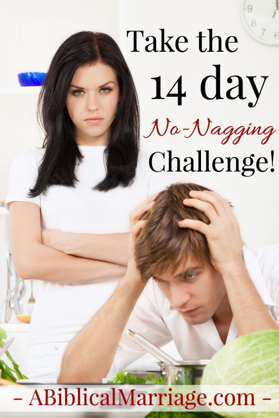 nagging in a relationship
