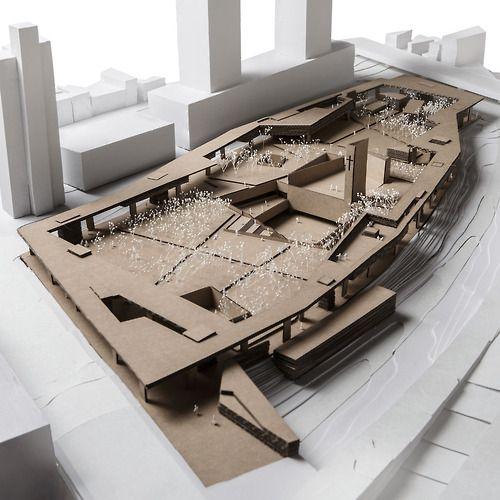 ARCHITECTURAL MODEL | SEOSOMUN PARK - PWFERRETTO