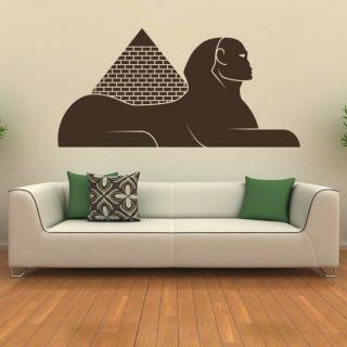 Наклейка по тематике от 2stick.ru.Египетские пирамиды и сфинкс