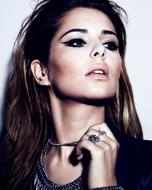 Nice Eye make up - Cheryl Cole