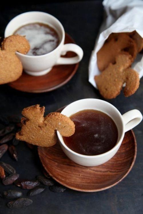 squirrel tea cookies