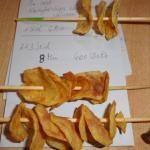 letzter Test super geworden die Kartoffelchips aus der Mikrowelle