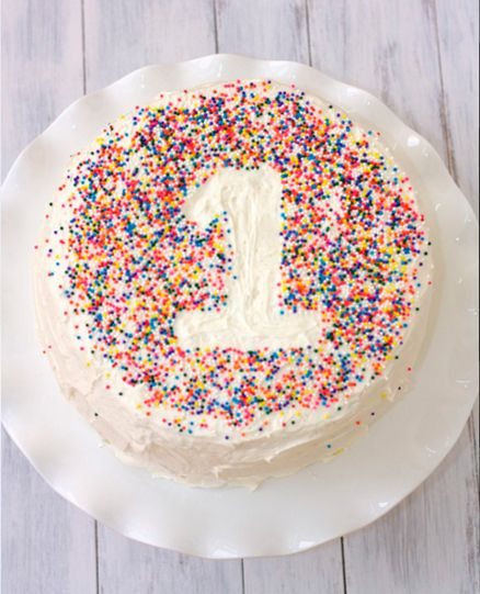 18 tartas para el primer cumpleaños del bebé – Una mamá novata