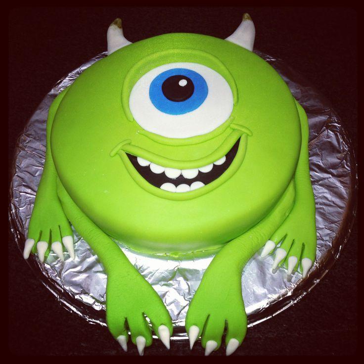 Mike Wazowski cake | C A K E S { B A K E S } | Pinterest ...