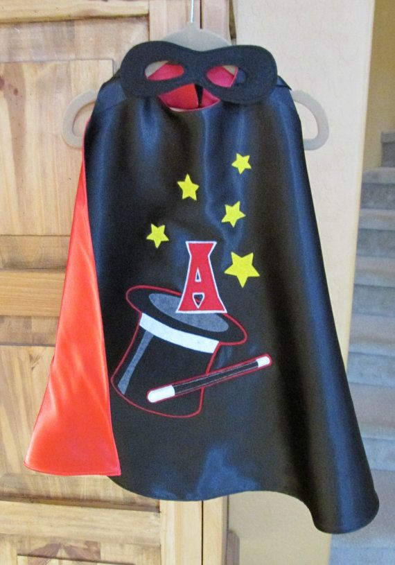 Childrens Magician Cape / Childrens Top Hat Cape by madglamapparel