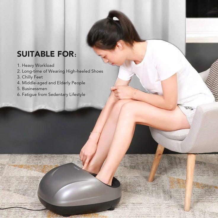 MaxKare <b>Foot</b> Massager Shiatsu Electric Massager with Heat, Deep ...