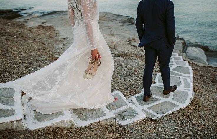 17 Best Ideas About Greek Wedding Dresses On Pinterest