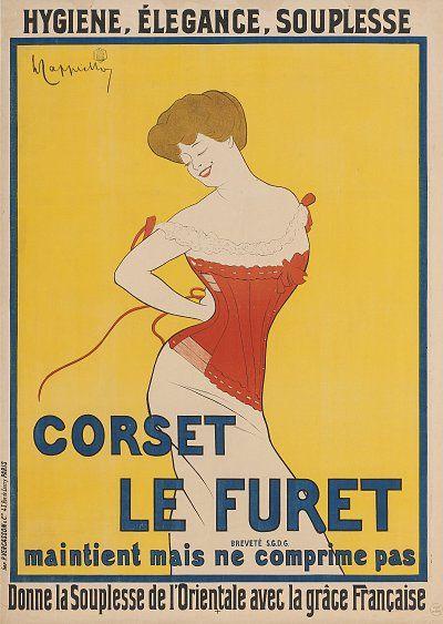 Juillet : exposition De la caricature à l'affiche au musée des Arts décoratifs.