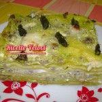Lasagne con asparagi ricotta e salsiccia