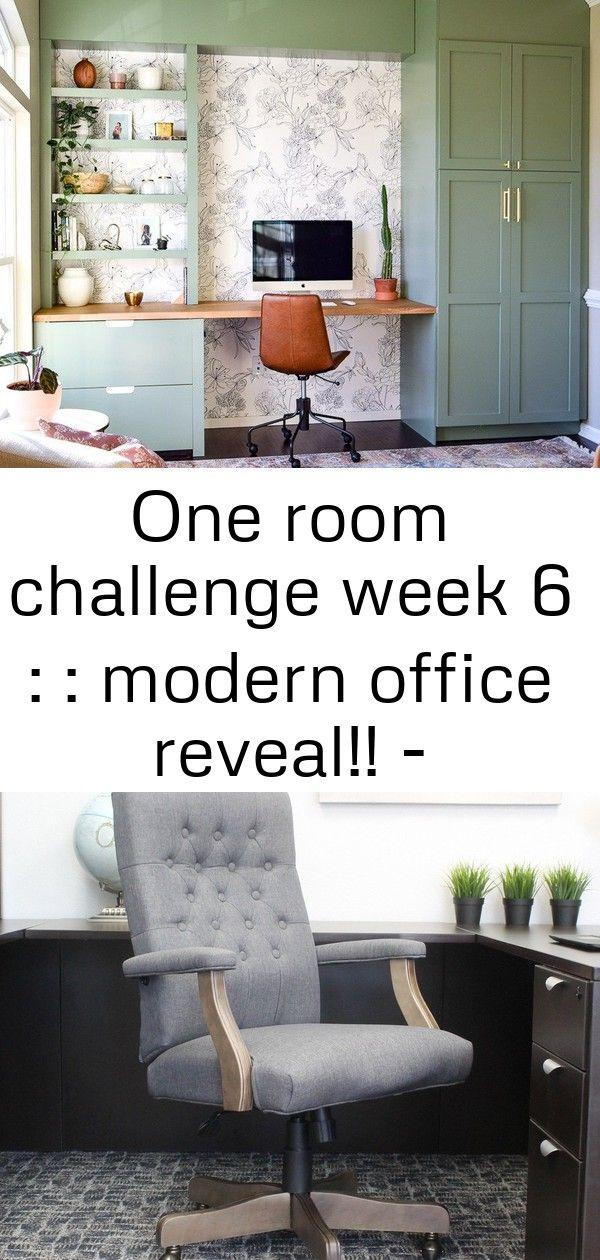 One Room Challenge Week 6 Modern Office Reveal One room challenge week six