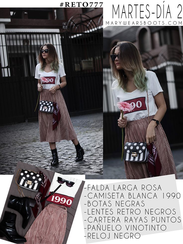 7 OUTFITS PARA TODA LA SEMANA CON 7 PRENDAS DE ROPA Sequin Skirt, Casual Outfits, Sequins, Street Style, Skirts, How To Wear, Fashion, Happy, Black Watches