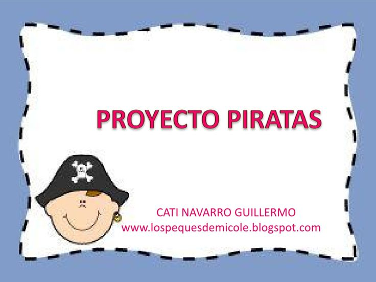 proyecto-piratas by Catigui via Slideshare