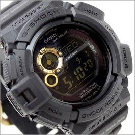 Casio G-SHOCK MUDMAN Master of G Black Motif Watch G-9300GB-1, G9300GB