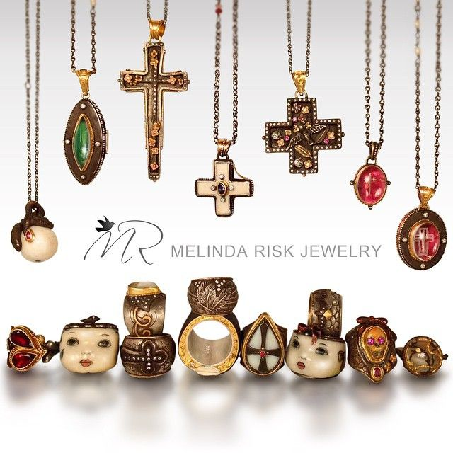 Melinda Risk Jewelry (@melinda.risk) • Instagram photos and videos
