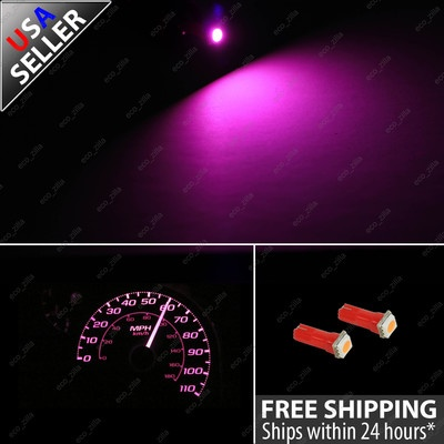 Ebay $8.99 Pink Speedometer Gauge Cluster LED Light Bulb