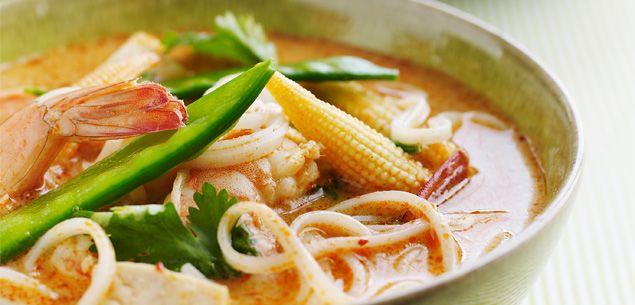 Thai food and palm sugar