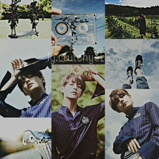 #sky #sunlight #greenfield #taehyung #bts  Follow ig @clutchyez_