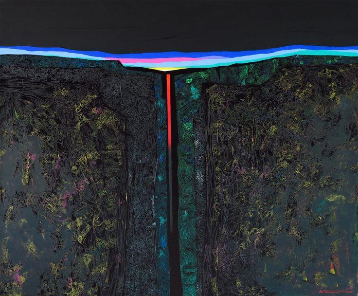 Wattanachot Tungateja Dreamscape 2A-2016, Acrylic on Canvas, 100x120 cm. Quatuor elementa - Four elements - Cztery żywioły - Earth, Air, Fire & Water - od 1.06 - Tajsko-Polska wystawa w Centrum Promocji Kultury w Warszawie http://artimperium.pl/wiadomosci/pokaz/742,quatuor-elementa-four-elements-cztery-zywioly-earth-air-fire-water#.V0zDzvmLTIU