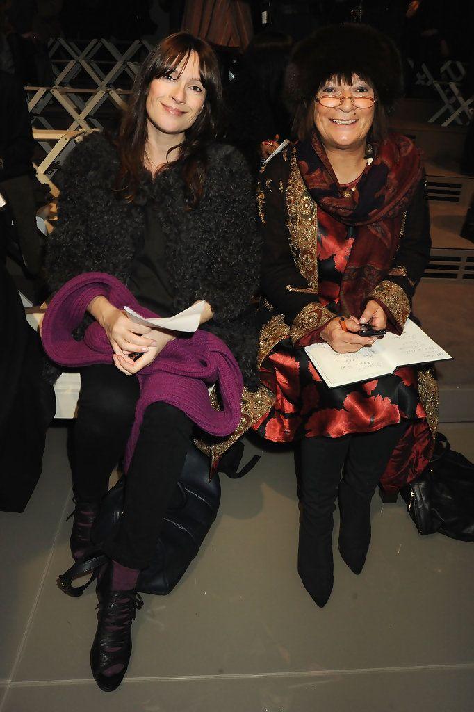 Hilary Alexander Photos: Burberry Prorsum Front Row - LFW Autumn/Winter 2010