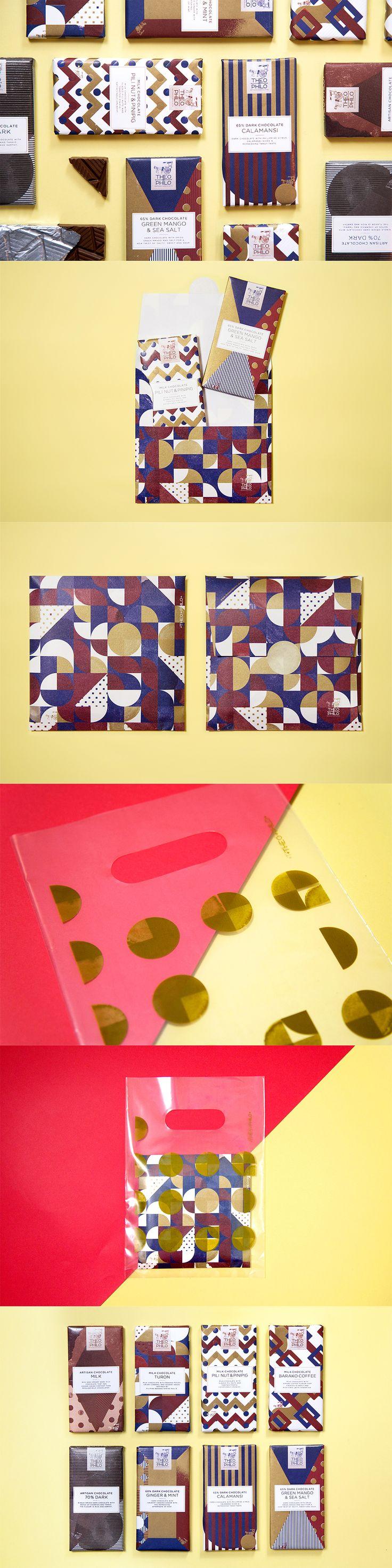 Theo & Philo Chocolate Package Design / 石黒 篤史 / Atsushi Ishiguro(OUWN)