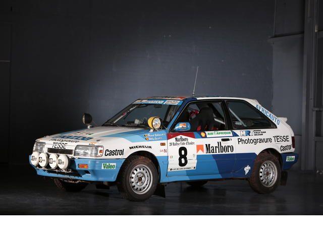 1988 Mazda 323 Rally Car
