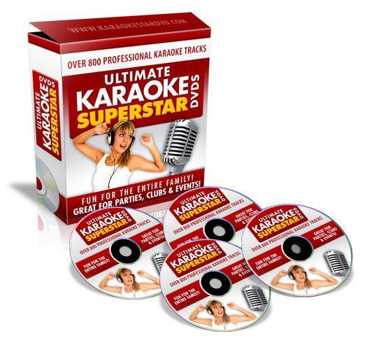 Karaoke DVD Disc CD CDG Large