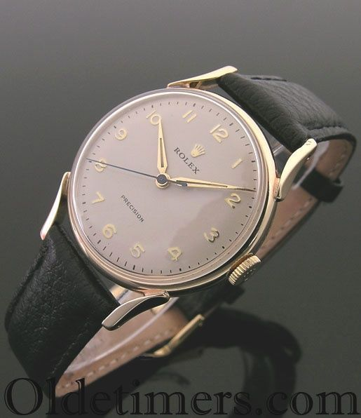 A 9ct gold round vintage Rolex Precision Watch, 1956 - large face watches for men, citizen watches, watches for men and women *sponsored https://www.pinterest.com/watches_watch/ https://www.pinterest.com/explore/watches/ https://www.pinterest.com/watches_watch/mechanical-watch/ https://www.longines.com/