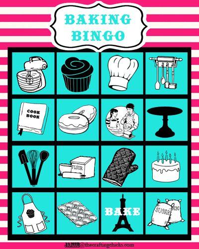 {Baking Bingo- Paris Bakeshop Party Part III}
