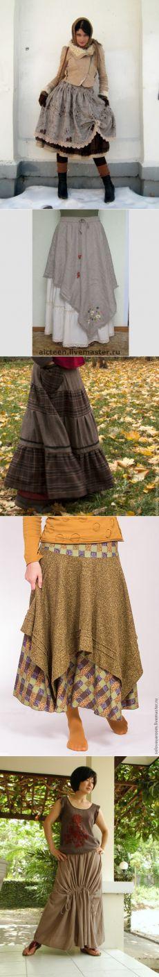 37 идей для юбки в стиле «бохо» - Сам себе волшебник