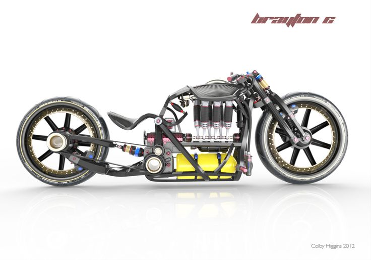 A one of a kind performance bike that was designed and engineered from the inside out.
