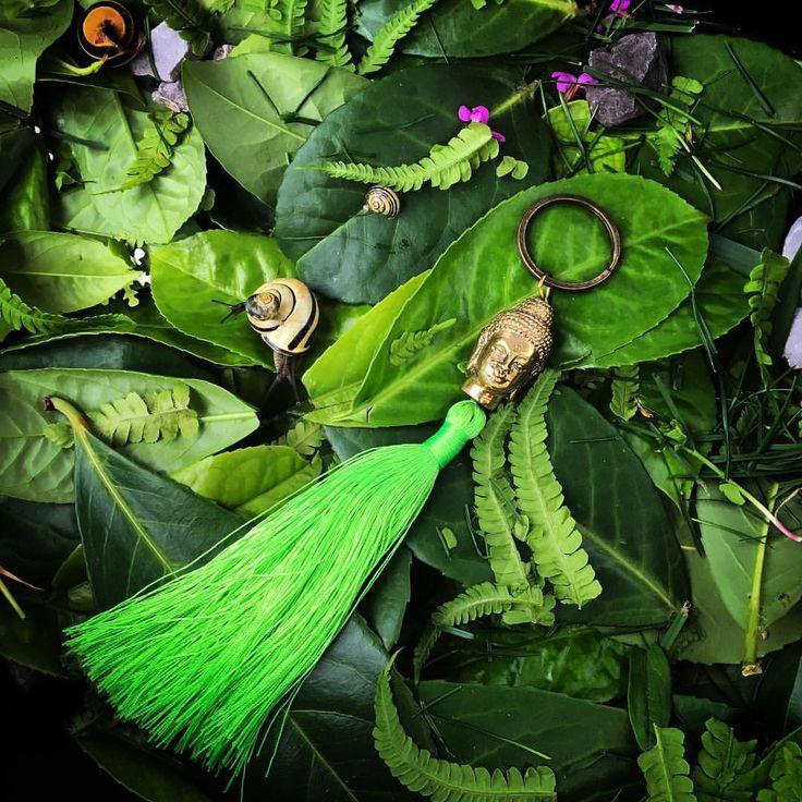 """Mama, we need to make our snail farm pretty!"" And they take my Buddha tassel ring 💚. . . Green Buddha tassel #lindahering #lovemykids #madewithloveinbaliღ #bali #accessories #buddha #coloursofbali #handmade #tassel #musthave #style #design #boutiques #instadaily #shoponline #fashion #fashionista #buddhatassel #fluorescent #fluorescentgreen #jewellery #instajewellery #instajewelry #handmadejewelry #jewelrygram #kids #jewellerygram #handmadejewellery #snail #enchantedforest"