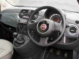 fiat 500 twin air tech house grey interior shot fiat 500 pinterest tech house fiat and cars. Black Bedroom Furniture Sets. Home Design Ideas