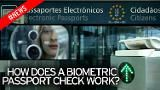 This is how a biometric passport check works