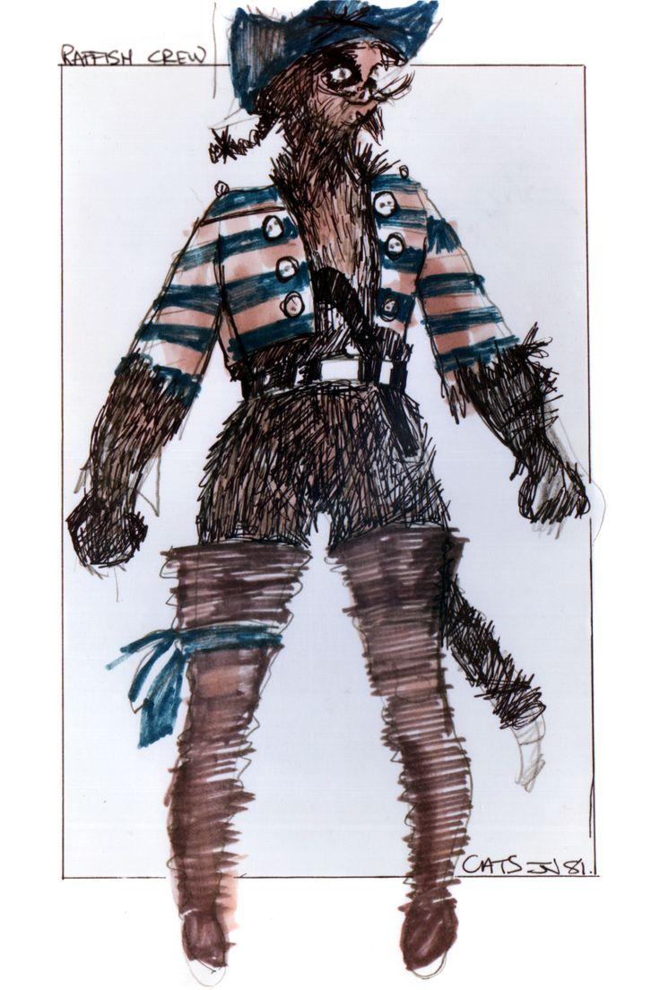 Raffish Crew original costume design, John Napier 1981