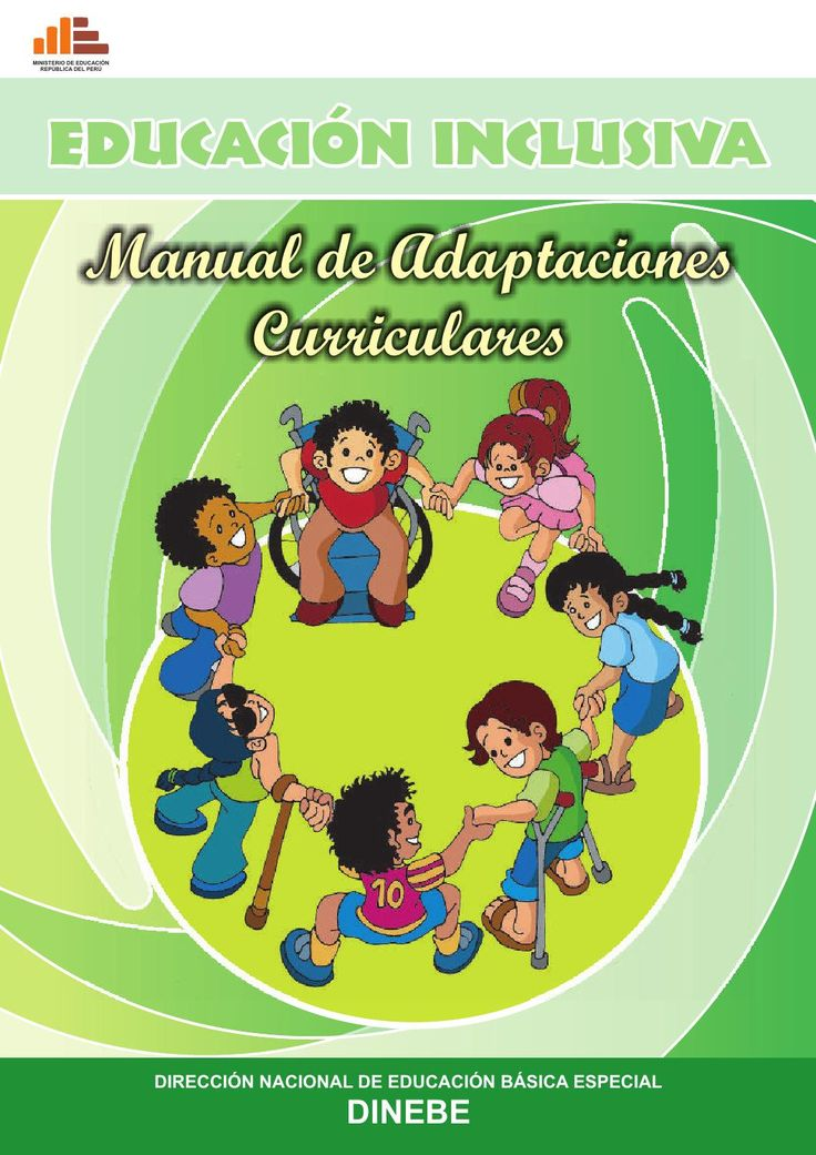 12 manual de adaptaciones curriculares  Valioso aporte para docentes que trabajan con estudiantes con necesidades educativas especiales.