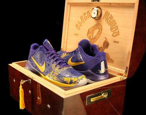 World's Most Expensive Shoes for Men: Nike Air Zoom Kobe 1 - Rich and Loaded